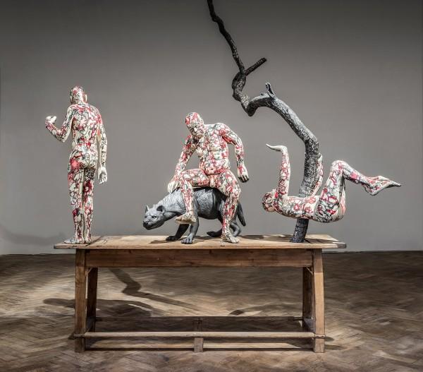 9-richard-stipl-josef-zlamal-untitled-2015-210x70x200cm-ink-on-wood-100-000