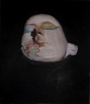 Alexander Tinei, Dream, 2012, oil on canvas, 32x28 cm