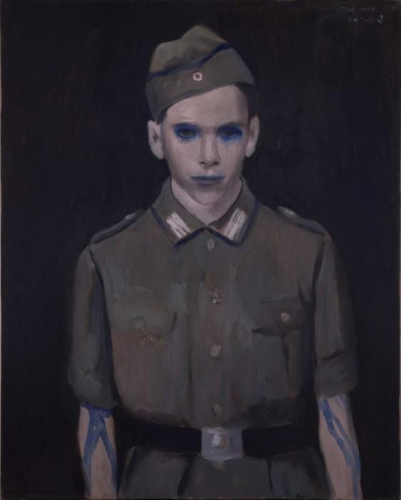 Alexander Tinei, Uncle J, 2006,Öl auf Lw,100x80cm