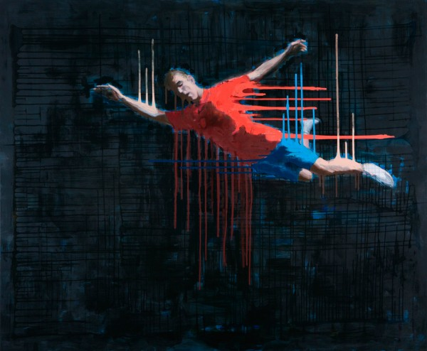 Night Dive,140x170cm,2010