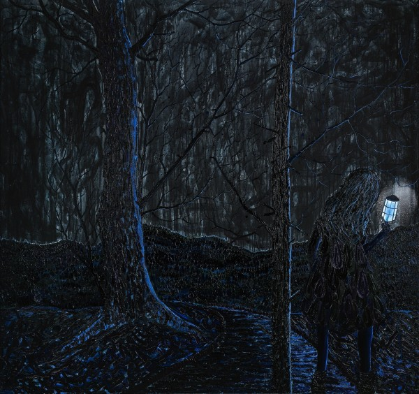 René Holm,series Darkness-3,for TRAFO Museum, Stettin