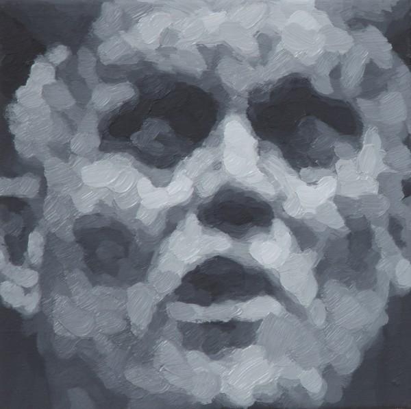 adam bota,gruppentherapie III,2012,30x30cm,ooc