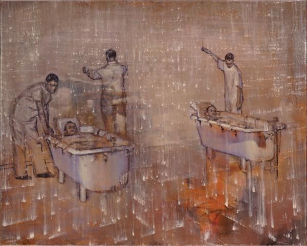 attila szucs, Transparent Care, oil on canvas, 80,5x100,5cm. 2014-16