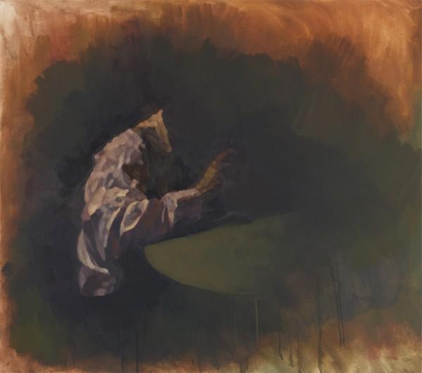 bota,einsertisch2,2009,120x135cm