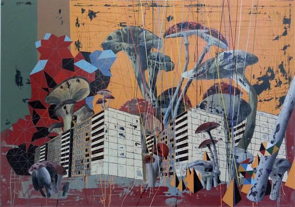 j.m.pozo,Pripyat's _Summer, 200x140cm,2013, aoc