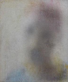 robert bosisio,Head, 2014, 72x60cm,egg tempera and acrylic on canvas.jpeg