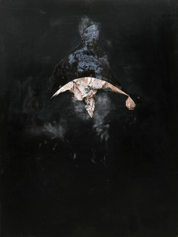 Nicola Samori,La Spada,2012,200x150cm,oil on wood,BSA Collection Berlin