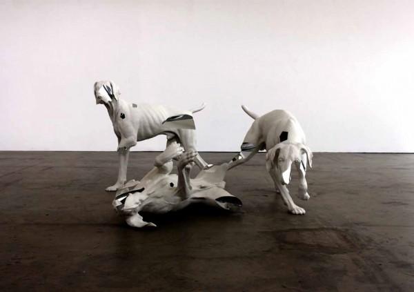 Gregor Gaida,Canis Major,2014,Acrylharz,Acrylglas