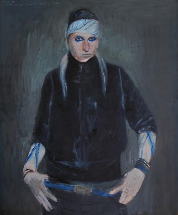 Alexander Tinei, I am the way.I am the salt, I think. 2009,120x100cm,oil on canvas