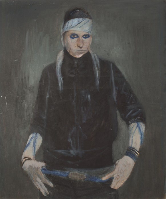 Tinei, Iam the way, 2009,oil on canvas, 120x100 cm