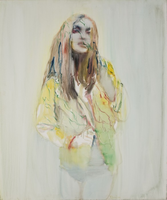 Tinei, Portrait, 2009, oil on canvas, 120x100 cm