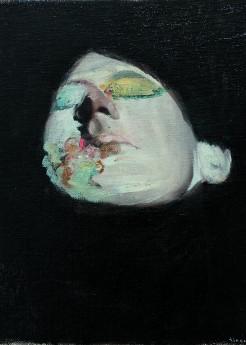 alexander tinei,dream,2012,oil on canvas