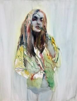 tinei,portrait,girl,120x100cm,2009