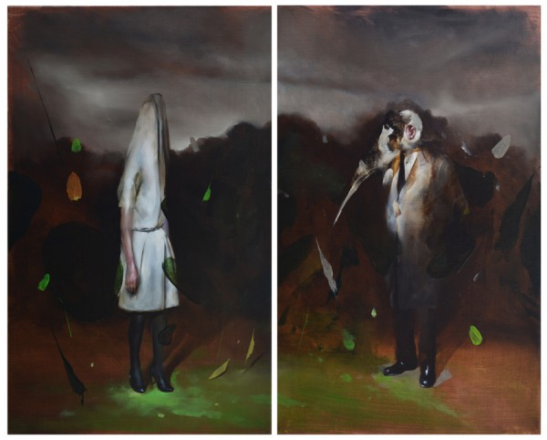 radu-belcin.2015.inthemirroroflife.oil-on-linen.2x69x43
