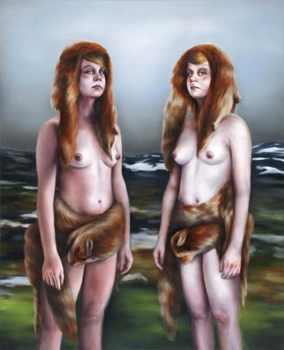 Haack,Hunters and Collectors, 2015, 170x140cm, Öl auf Nessel