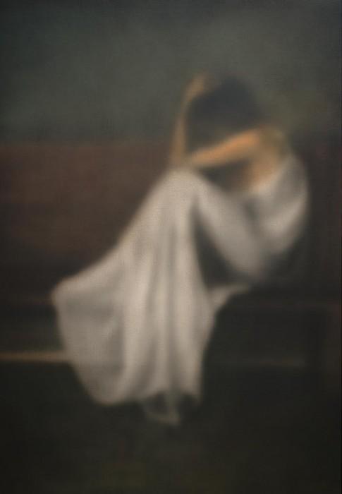 makarov,melancholie1,130x90cm,acryl auf lwd,2017